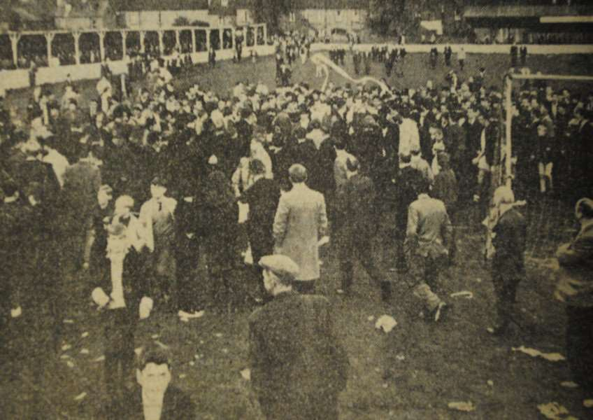 Memory Lane: The Journal reported how brawls broke out at the London Road stadium after 3,000 saw Grantham Town FC lose to Heanor Town in the final minutes of their FA cup tie.