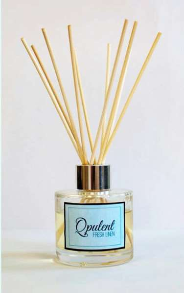 One of Opulent's reed diffusers.