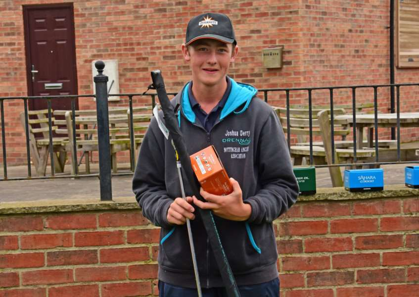 Toot Hill's Great Rod Race: Third prize went to Joshua Derry.