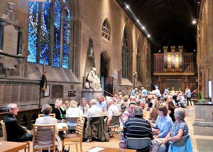 The annual quiz takes place at St Wulframs Church.