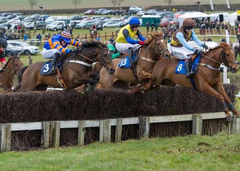 Point-to-point racing at Garthorpe.