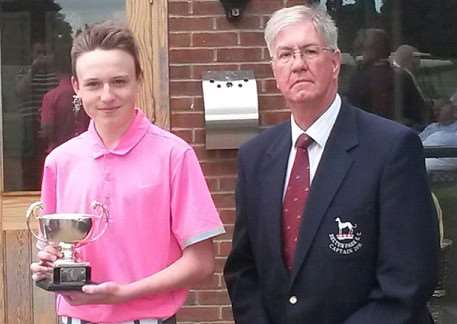 Belton Park net champion Tom Cooper.