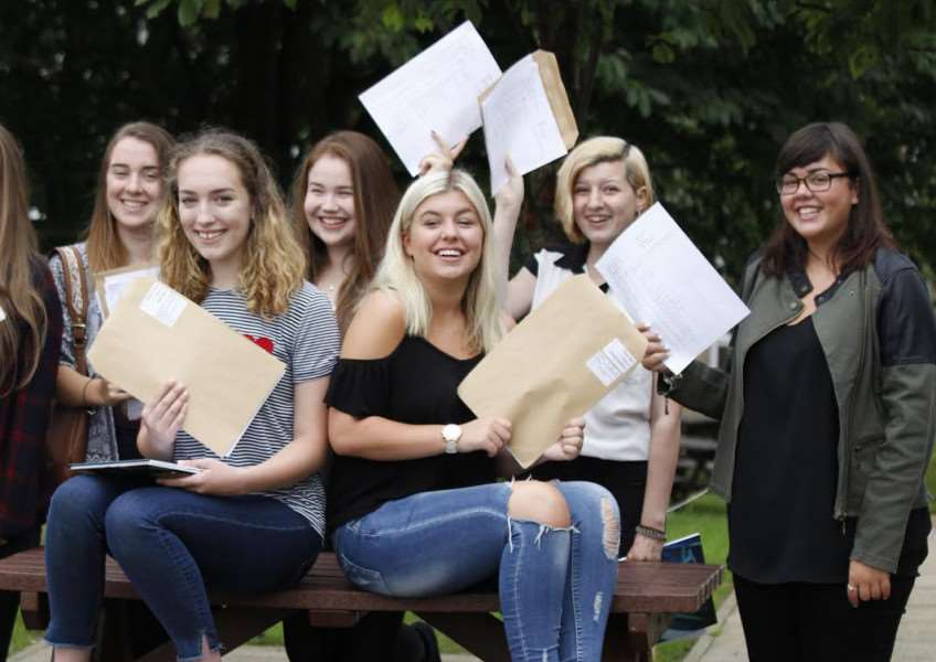 GCSEs results: Walton Girls' High School