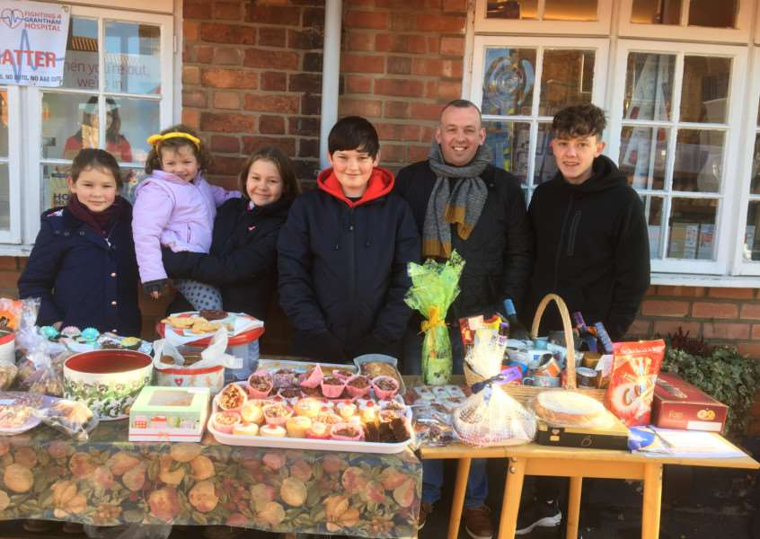 Children in Need: Raising funds in Great Gonerby