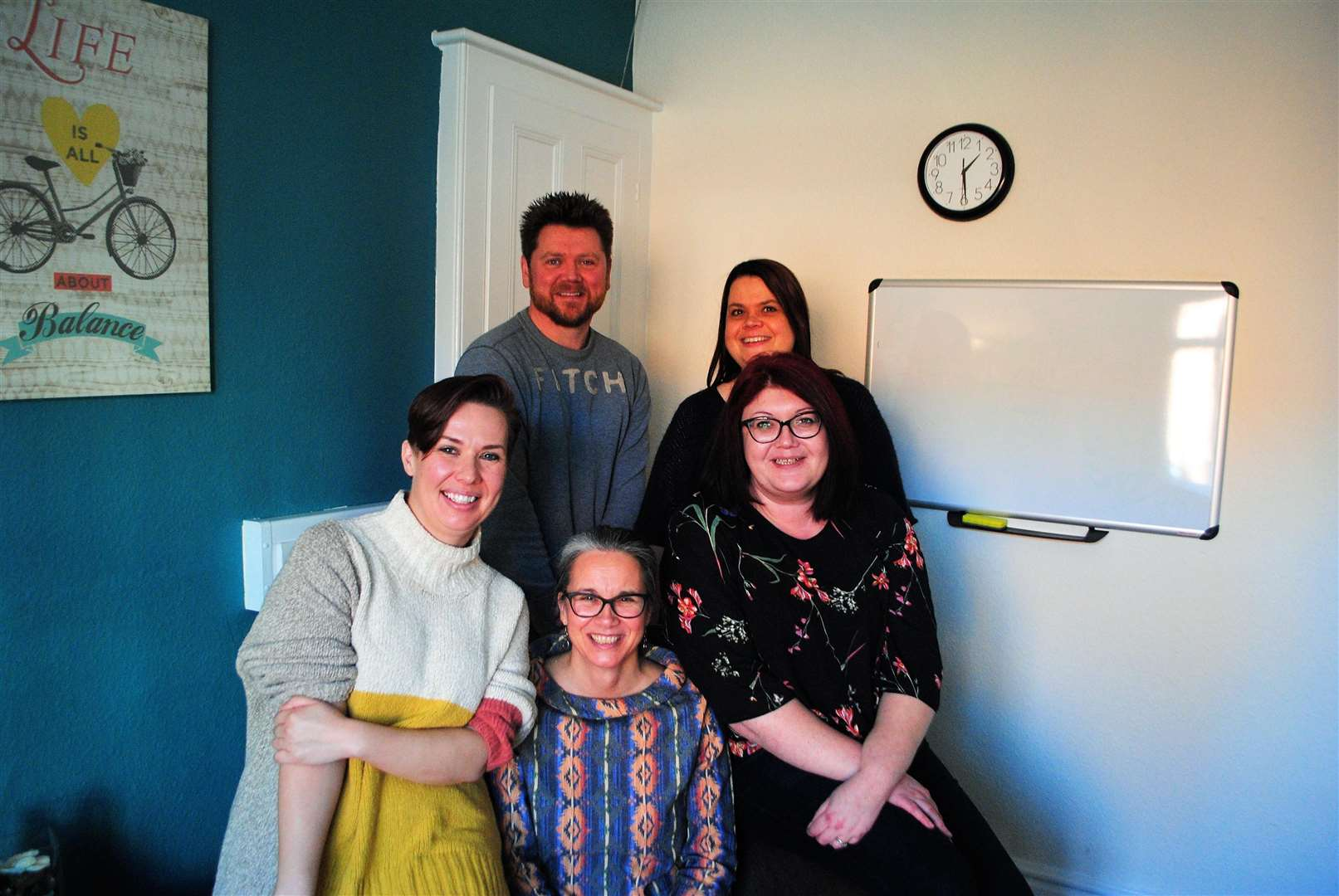 The Trust House Lincolnshire team, from left, front Lizzy Mills (lead counselling, university), Tracy Cryer (clinical lead) and Sian Reynolds (Communication and development officer); back, Neil Wells (CEO) and Michelle Tasker (lead counsellor). (6402450)
