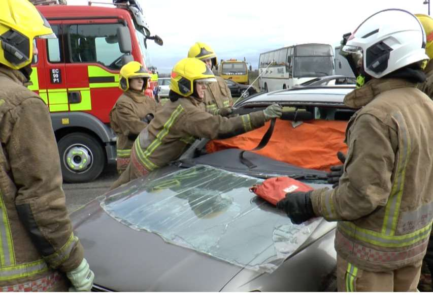 Lincolnshire Fire and Rescue training
