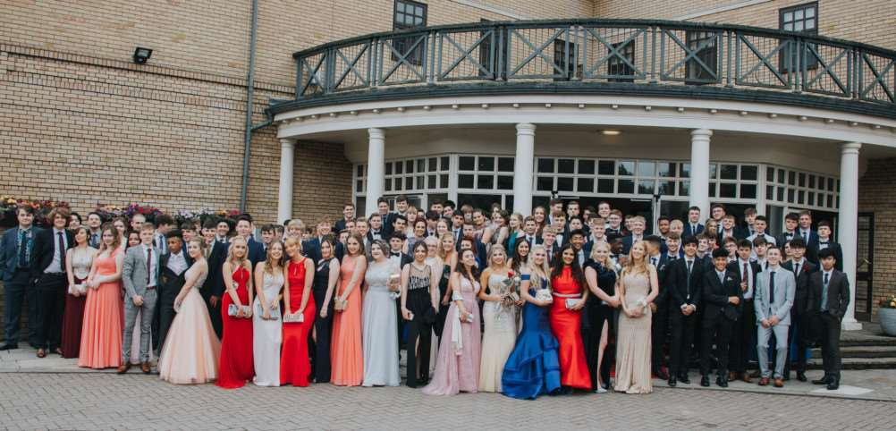 Priory Ruskin Academy Prom at Belton Woods Hotel.