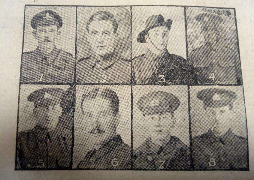 Looking Back - Grantham Journal Roll of Honour 100 years ago.