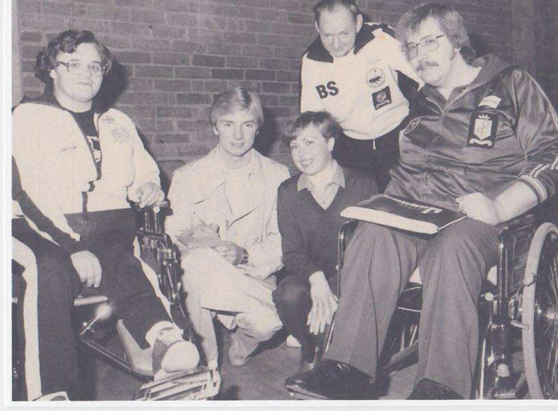 Irene Hotchin met Jane Torvill and Christopher Dean in the early 1980s in Nottingham.