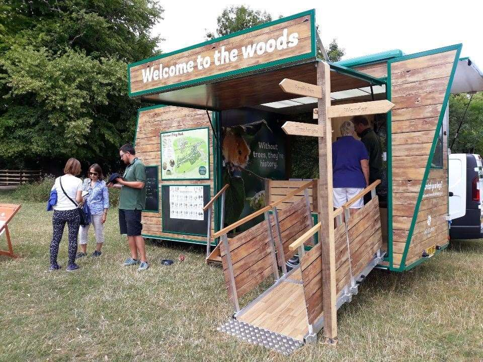 The mobile visitor is coming to Londonthorpe Woods. (11915308)
