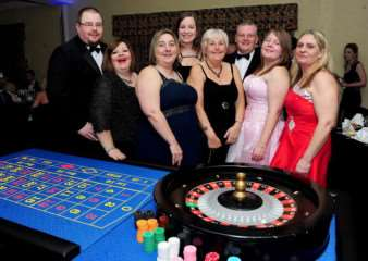 James Bond was the theme of Grantham Business Club's event, in aid of GDCS.