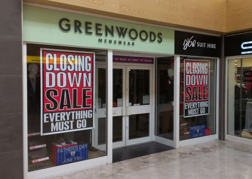 Greenwoods in the Isaac Newton Centre is closing down.