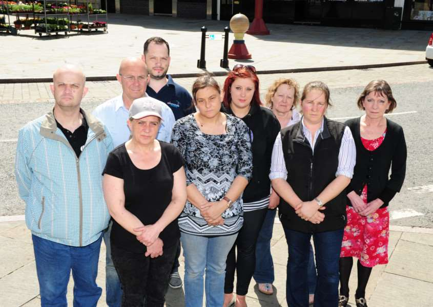 Traders are increasingly unhappy with parking restrictions in Westgate, Grantham.