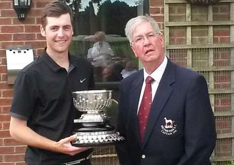 Belton Park scratch champion Chris Haynes.