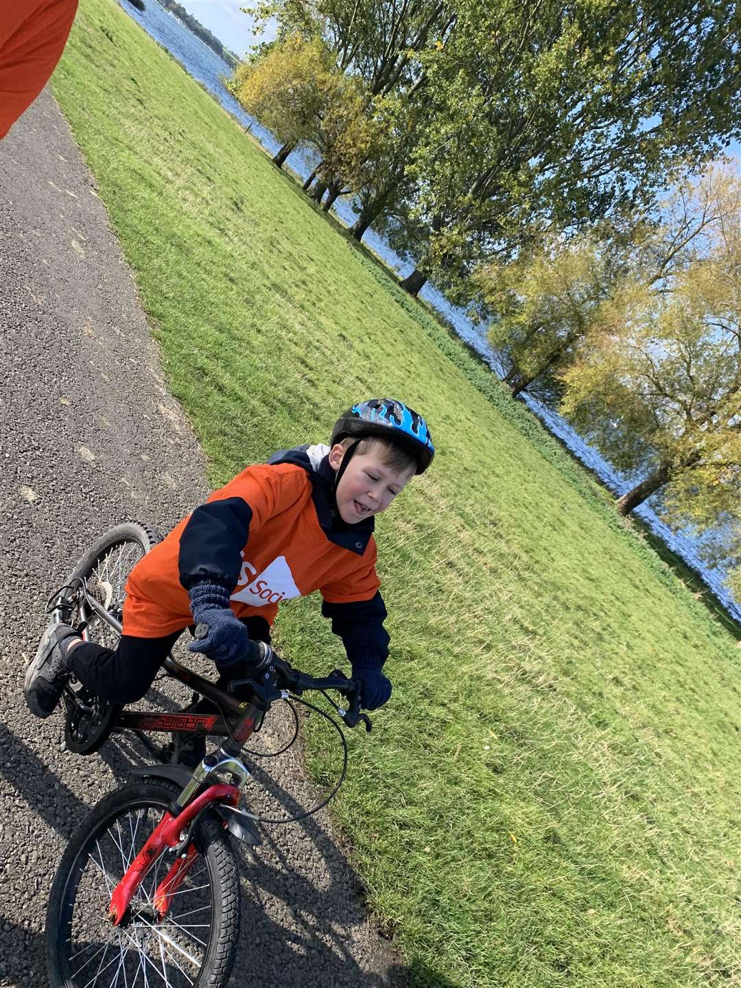 Charlie Wood has completed his charity bike ride. (20800307)
