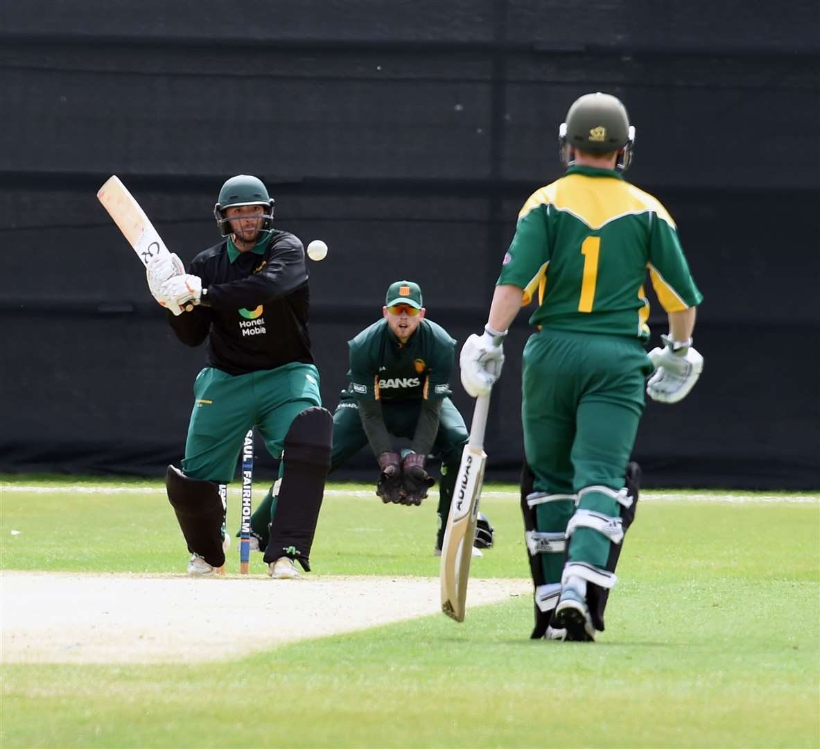 Dan Freeman batting for Lincolnshire. Photo: Toby Roberts (9816470)