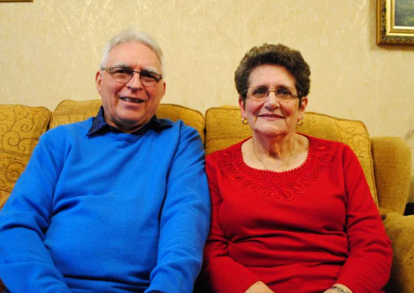 John and Elizabeth Beever are celebrating their Golden Wedding anniversary.