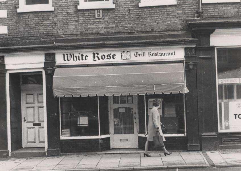Do you remember the White Rose Grill Restaurant? Photo courtesy of Terry Shelbourne.