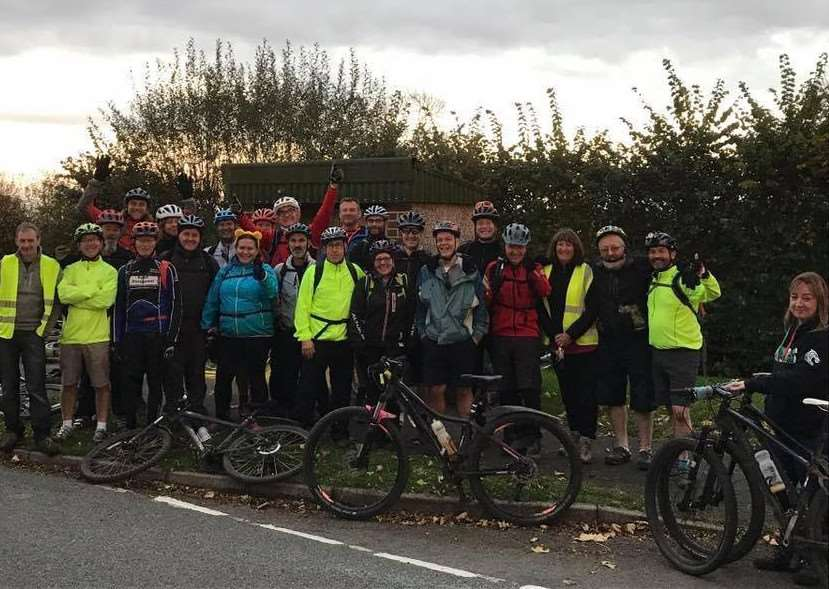 Allington Biking Viking's 2017 took part in their 25th charity ride for Children in Need.
