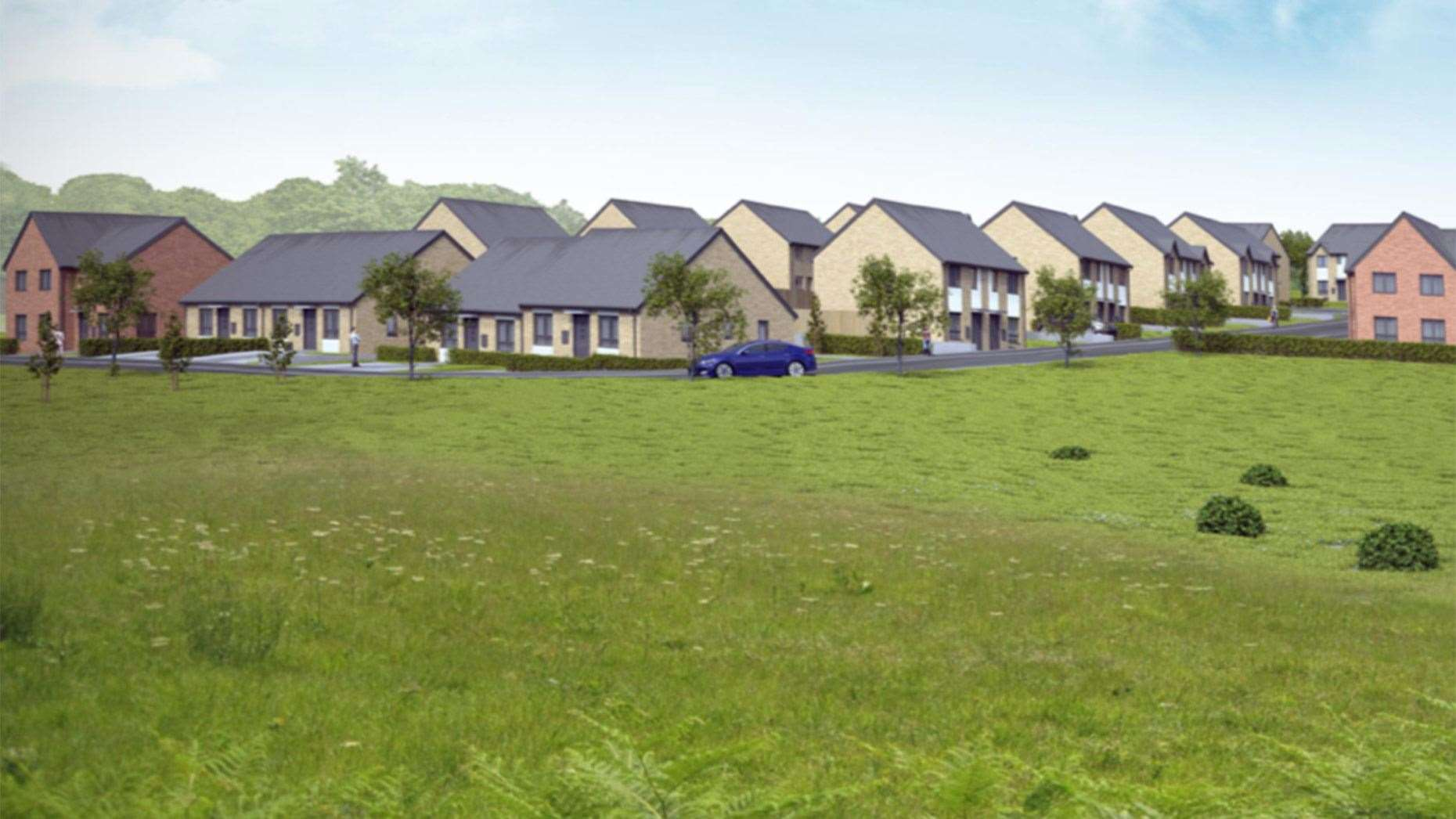 Design of the proposed development in Great Gonerby. (8595554)