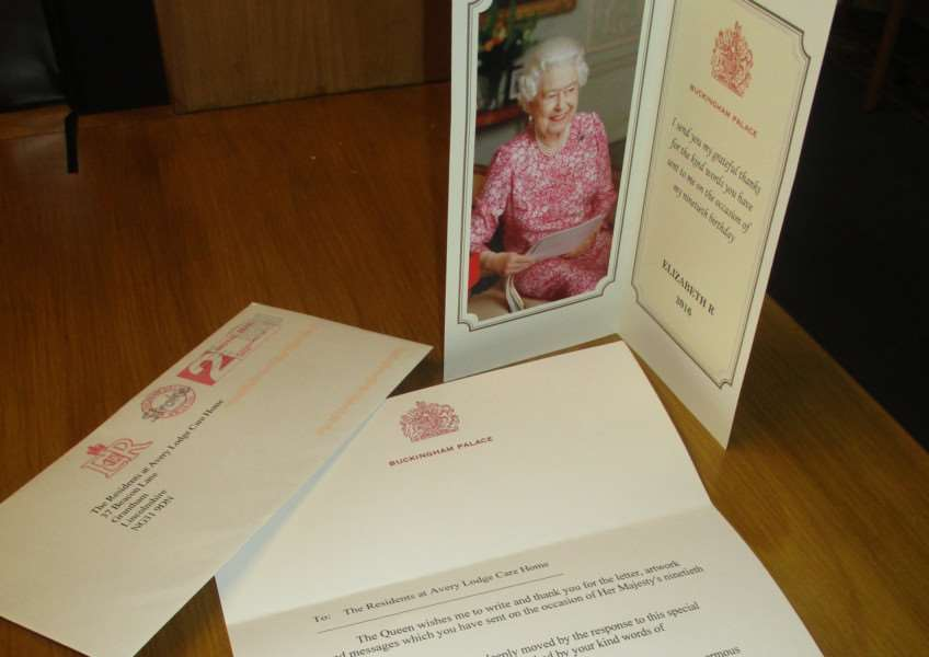 avery lodge message from the queen