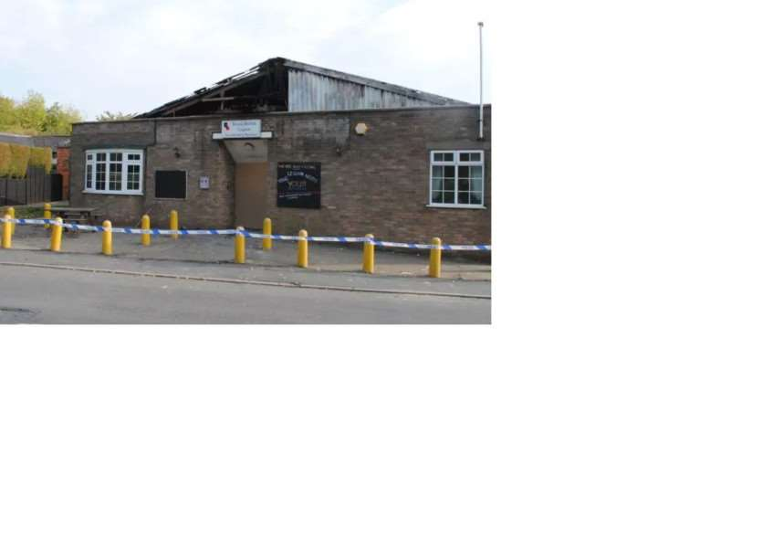The Barrowby Royal British Legion clubhouse was destroyed by fire in October 2011.