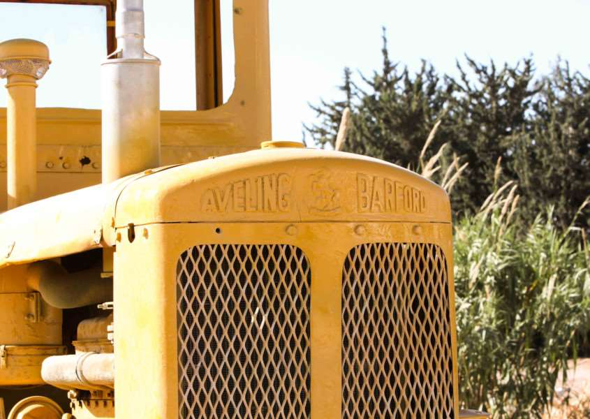 The Aveling Barford name gets around the world. This MG6 Motor Grader was seen in Paphos, Cyprus, by Shane Marshall.