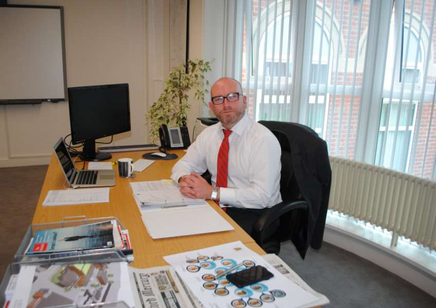Aidan Rave, Chief Executive of South Kesteven District Council.