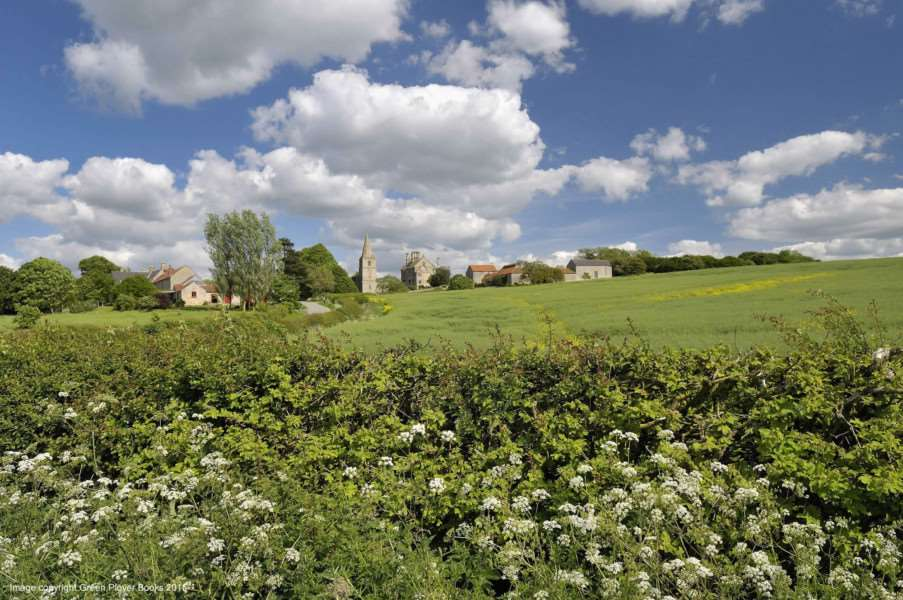 A landscape picture of Bassingthorpe near Grantham by Jon Fox.