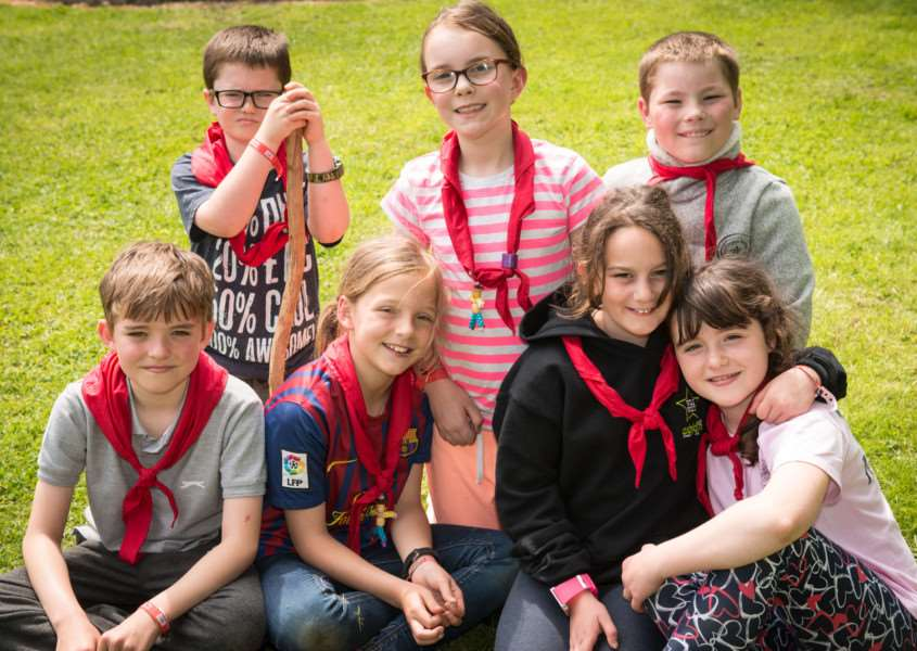 Cubs from the Grantham camp.