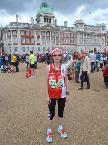 Penny Hedley Lewis will run her 11th London Marathon.