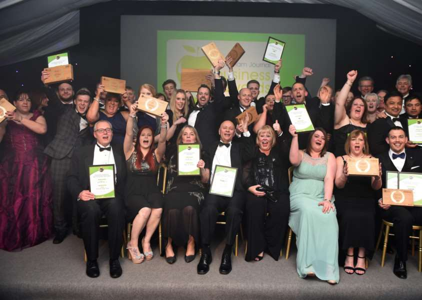 Grantham Journal Business Awards winners and runners-up in 2016