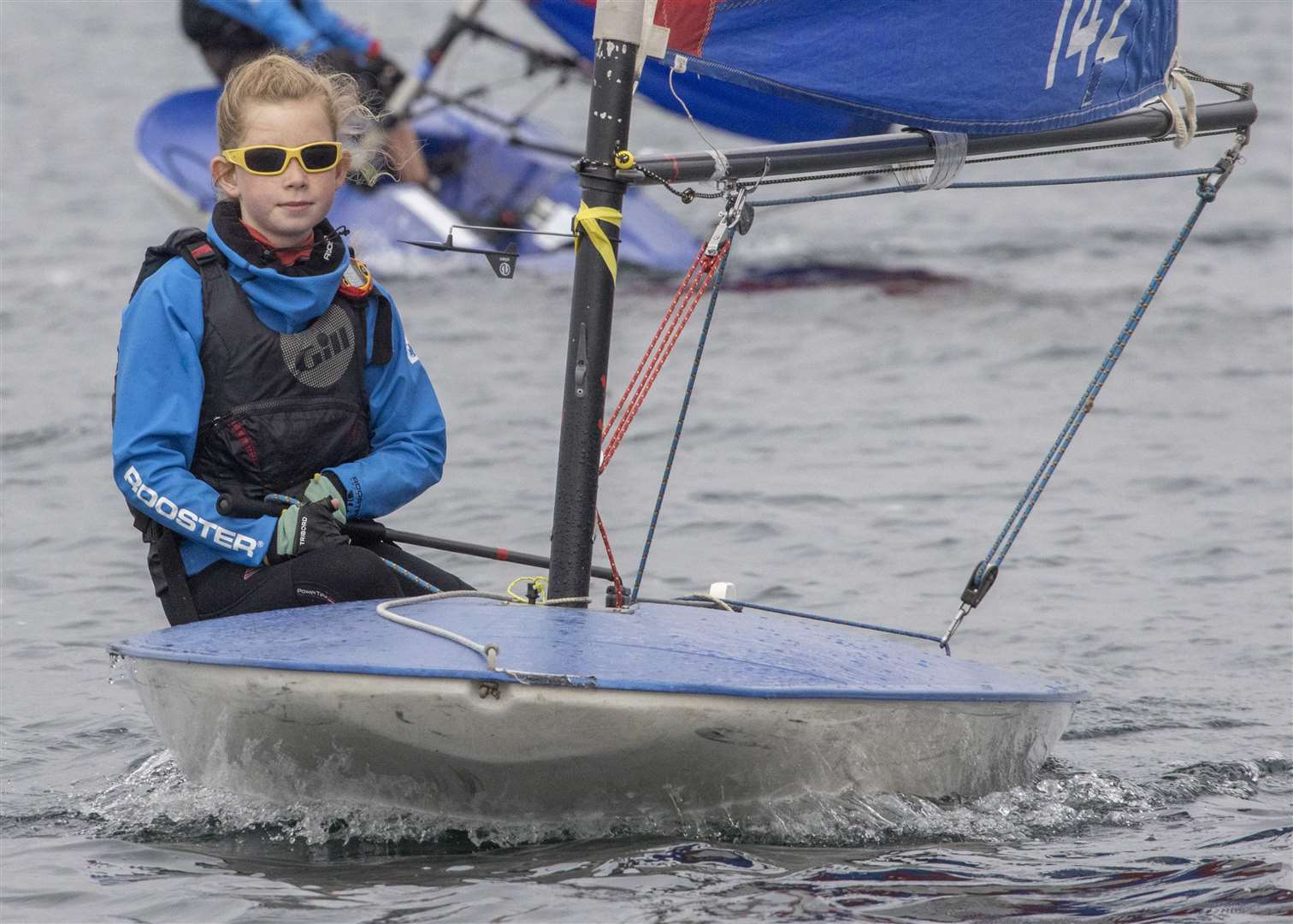 Isabel sailing a club Topper dinghy at Notts County SC, credit David Eberlin. (43455270)