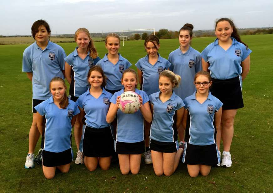 Priory Ruskin Academy Year 7 netball team