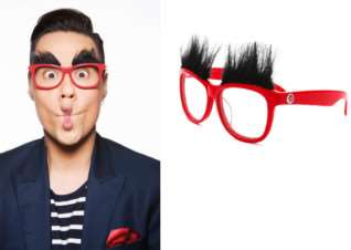 Get your Red Nose Day specs as modelled by Gok Wan.