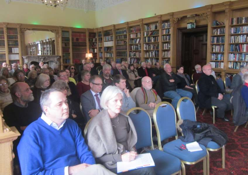 Some 70-80 people turned up for the public inquiry