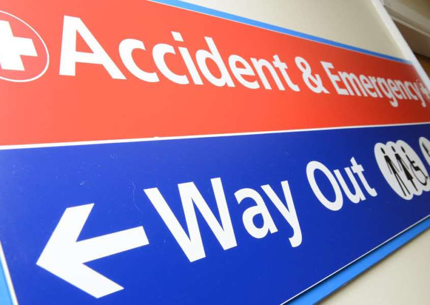 Accident and Emergency at Grantham Hospital