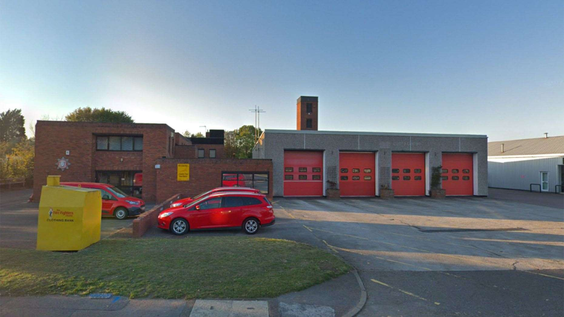 Grantham Fire Station will receive a £1 million upgrade. (21481172)