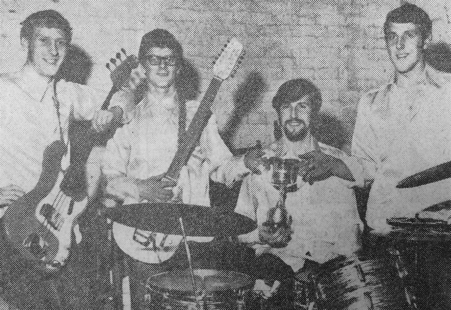 Grantham bands battled out beat competition in the late 1960s