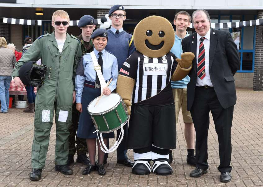Grantham Town Football Club open day