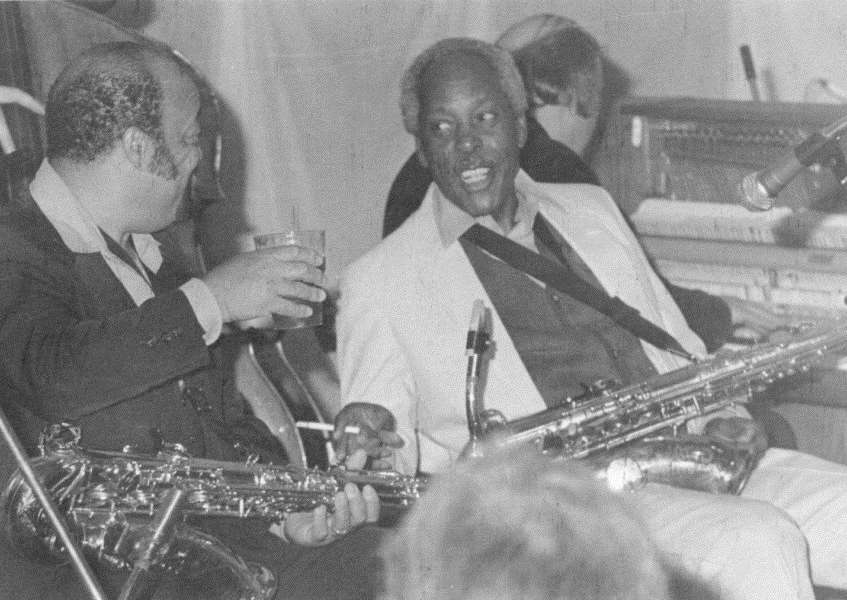 Red Holloway and Sonny Stitt