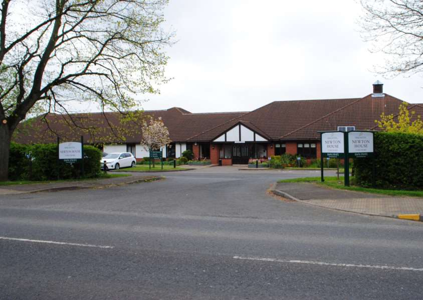 Newton House Nursing Home, Barrowby Road, Grantham.