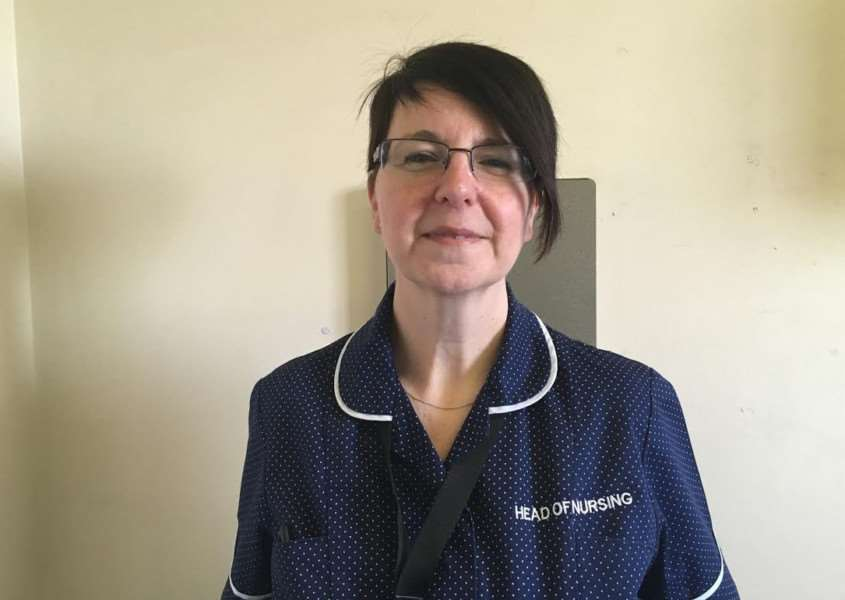 Maxine Hughes, Head of Operations and Clinical Services at ULHT