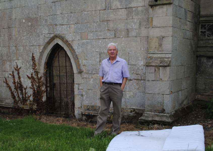 Steel Roof To Thwart Thieves From Great Ponton Church