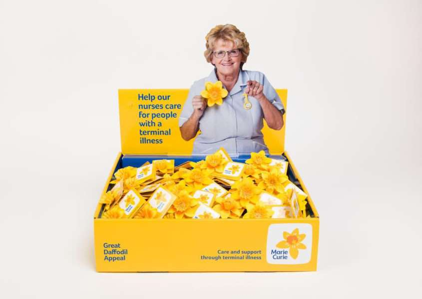 Marie Curie's Great Daffodil Appeal