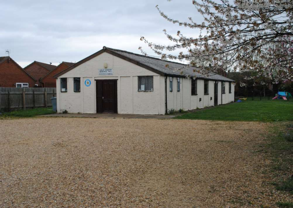 Great Gonerby Memorial Hall is to be demolished.