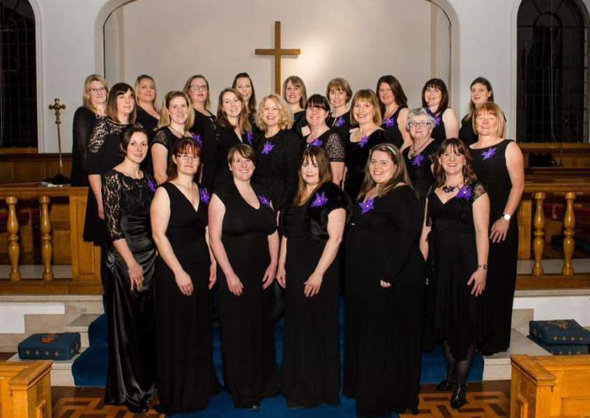 The Military Wives Choir RAF Cranwell will sing at Sheffield Cathedral in support of Breast Cancer care. mD3wIBD9bmGsMti8xOTM