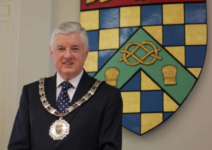 Coun Ray Wootten, chairman of South Kesteven District Council EMN-150527-171114001