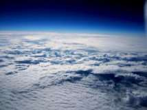 A fascinating picture of the Earth taken from a weather balloon launched by Priory Academy students during Science Week.