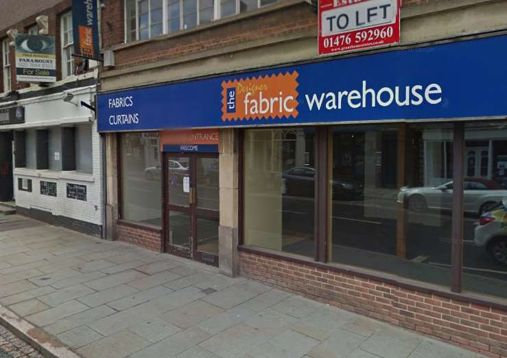 The Designer Fabric Warehouse closed at the end of 2014. Photo: Google